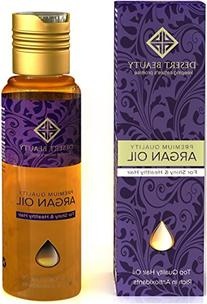 Premium Argan Oil for Hair Treatment, Conditioning & Hair