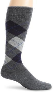 Sockwell Men's Argyle Circulator Sock, Medium/Large,