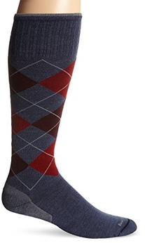 Sockwell Men's Argyle Circulator Socks, Denim, Medium/Large