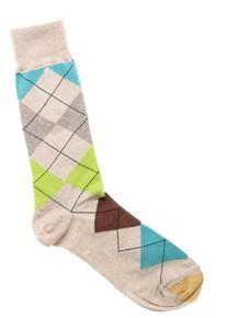 Gold Toe Men's Multi Argyle Sock, 1 Pack