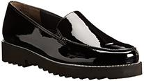 Paul Green Women's Ariana Slip-On Loafer , Black Patent , 7
