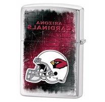 Zippo Arizona Cardinals Brushed Chrome Lighter