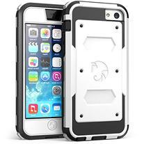 iPhone 5C Case, i-Blason Armorbox for Apple iPhone 5C Dual