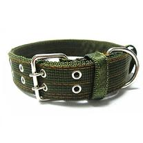 Pesp® Army Green Dog Metal Buckle Double 2-rows Belt Strap