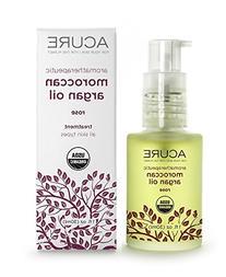 Acure Aromatherapeutic Argan Oil, Rose 1floz