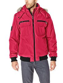 Calvin Klein Men's Artic Bomber, Red, XX-Large