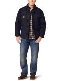 Carhartt Men's Big & Tall Arctic-Quilt Lined Sandstone Duck
