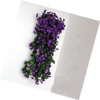 "Colorfulife® 1pcs Artificial Lifelike Silk 29"" Violet"