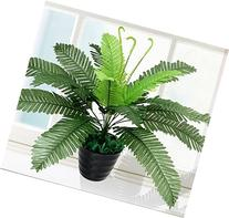 Artifiical Small Palm Tropical Silk Plant for Home Deocr
