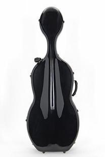 Artino Muse Carbon Composite Cello Case - Charcoal