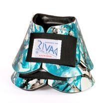 DAVIS Artisan Large Teal No-Turn Bell Boots