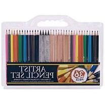 Pro Art 36 Piece Artist Pencil Set