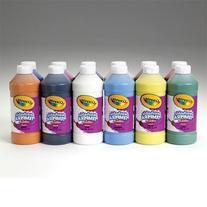 Crayola Artista II Washable Liquid Tempera Paint - Pint -