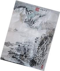 Artwork Unframed Hand Painted Art Chinese Brush Ink and Wash