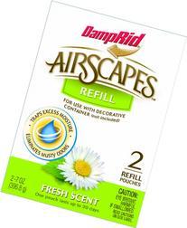DampRid AS20FS Airscapes Dehumidifier Refill Pouches, Fresh