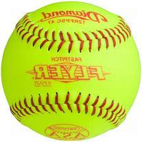 """Diamond Asa Synthetic Fast Pitch Softballs 11"""" 12 Ball Pack"""