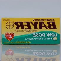 Bayer Aspirin Regimen 400 Enteric Safety Coated Tablets Low