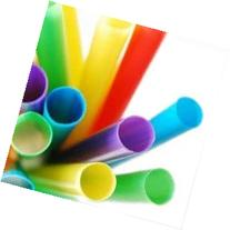 Assorted Colors 50-pc Bubble Tea Smoothie Straw