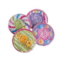 Lot Of 12 Assorted Candy Theme Round Mini Maze Puzzle Games