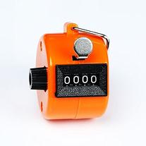 MassMall Assorted Color Handheld Tally Counter 4 Digit