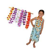 Toy Cubby Assorted Hawaiian Ruffled Simulated Silk Flower