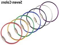 Mini Skater 7 Assorted Colors Durable Stainless Steel Wire