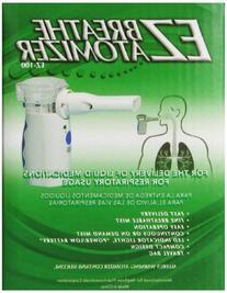 EZ Breathe Atomizer Asthma-Inhalers, Model # EZ-100