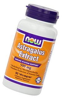 Now Foods Astragalus 70% Extractract 500mg, Veg-capsules, 90