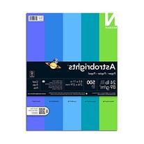 Neenah Astrobrights Premium Color Paper Assortment, 24 lb, 8
