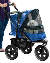Pet Gear No-Zip AT3 Pet Stroller, with Zipperless Entry,