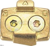 TIME ATAC Cleat Gold, One Size