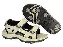 Orlimar Women's Athena Golf Sandal, Taupe/Black, Size 6/