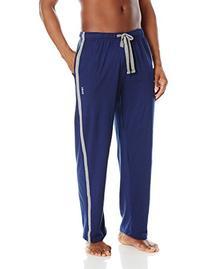 IZOD Men's Athleisure Knit Sleep Pant, Navy, Large