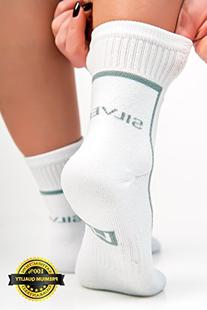 #1 Athletic Cushion Crew Socks for Mens and Womens, No
