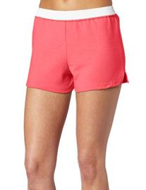 Soffe Juniors Athletic Short, Rouge Red, X-Small