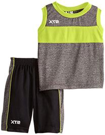 STX Little Boys' 2 Piece Performance Athletic Tank and Short