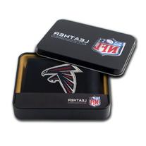 NFL Atlanta Falcons Embroidered Genuine Cowhide Leather