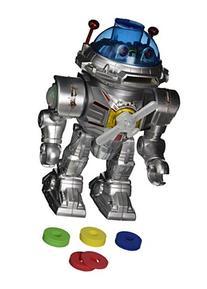 Westminster Atom 7 Robot - Walks, Talks, Shoots Discs, Light