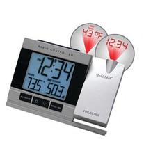 Atomic Projection Alarm Clock with Indoor & Outdoor