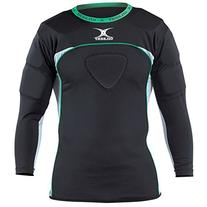 Gilbert Atomic Thermo Rugby Long Sleeve Shoulder Protector