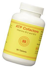 ATP Cofactors Vitamins B2 and B3 90 tablets by Optimox