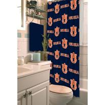 NCAA Auburn Tigers Shower Curtain, 72-inches by 72-inches