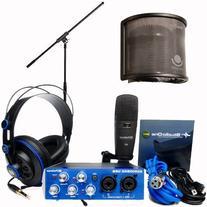 PreSonus AudioBox Studio Audio Recording Interface Bundle -