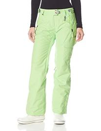 686 Women's Authentic Misty Pant, Chartreuse, Small