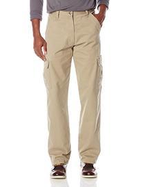 Wrangler Men's Authentics Classic Cargo Pant, British Khaki