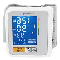 LotFancy Wrist Cuff Blood Pressure Monitor - Rechargeable