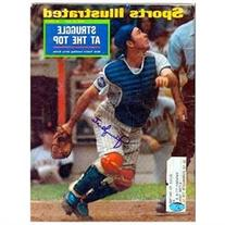 Autographed Jerry Grote Picture - Sports Illustrated