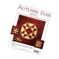 "Autumn Star Wall Quilt Kit-22""X22"