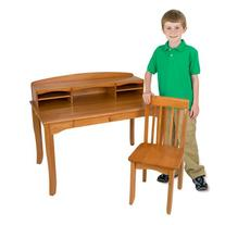 KidKraft Large Avalon Desk - Honey