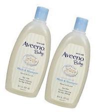 Aveeno Baby Wash & Shampoo Lightly Scented, 18-Fl Oz Bottle